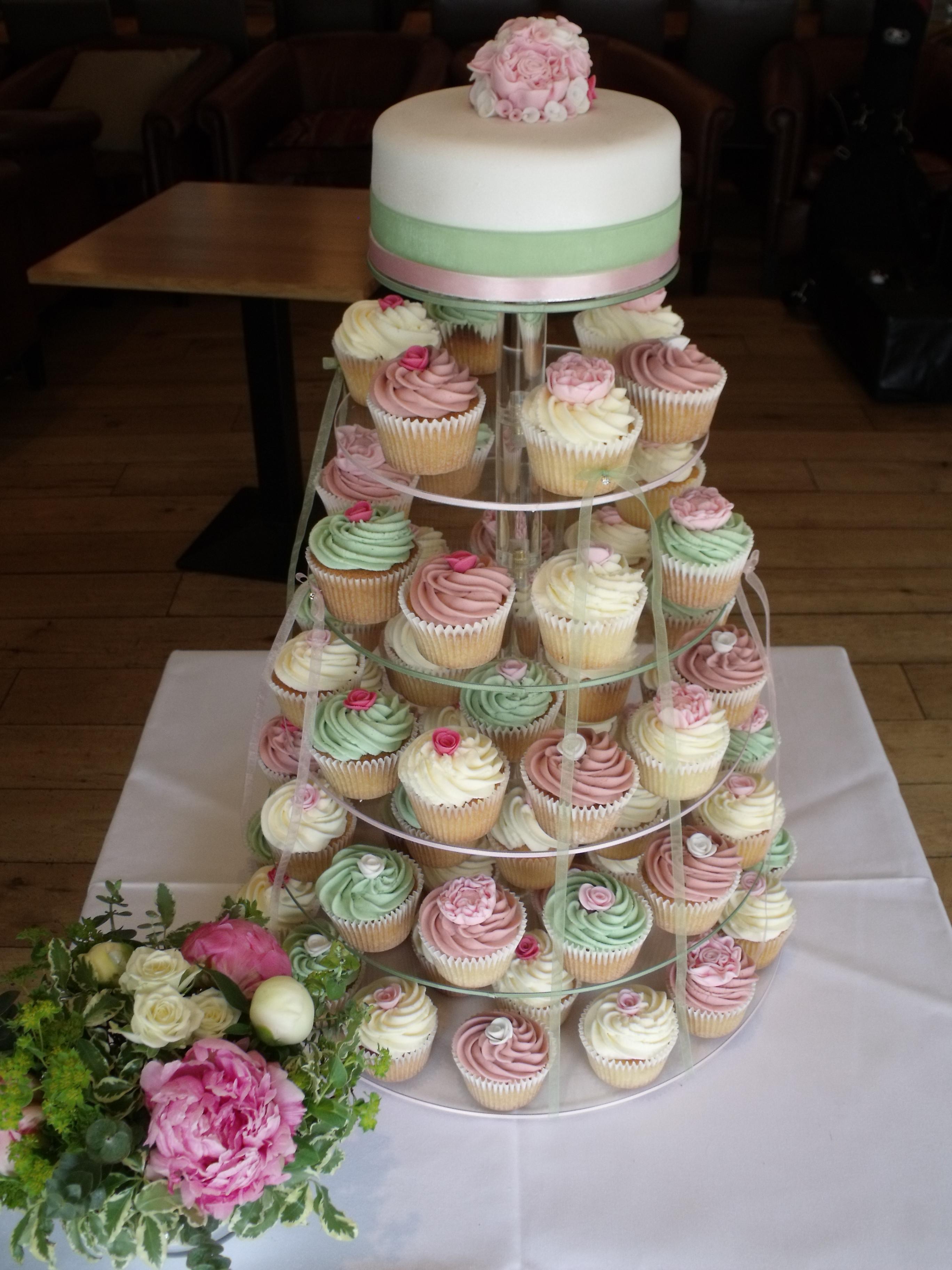 Wedding Cake Cupcakes  Wedding Cupcake