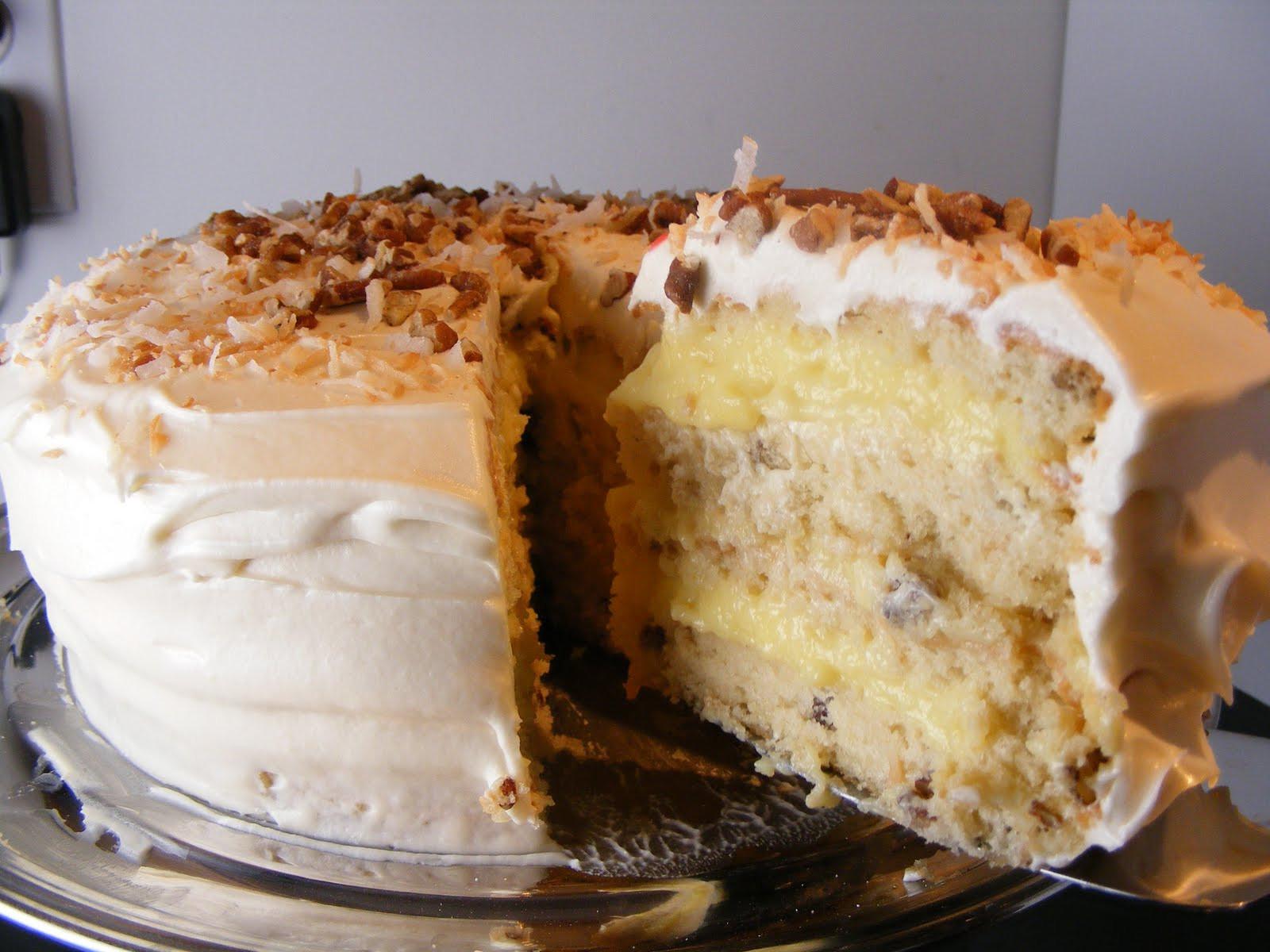 Wedding Cake Filling Recipe  The Virtual Goody Plate Italian Cream Wedding Cake