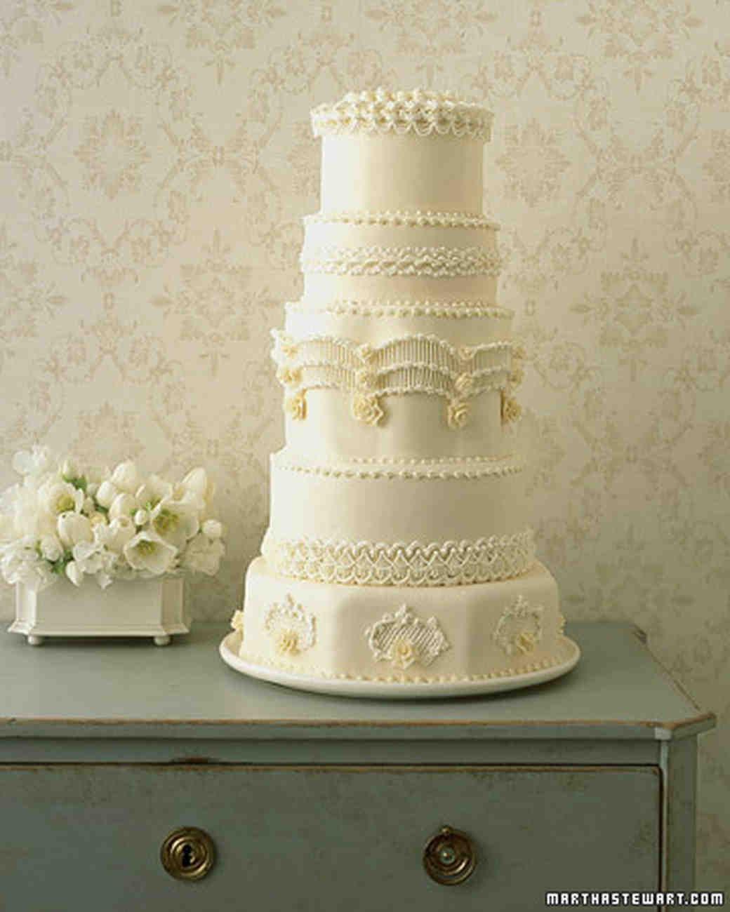 Wedding Cake Frosting Recipe Martha Stewart 20 Best Ideas Regal Piped Wedding Cake Recipe