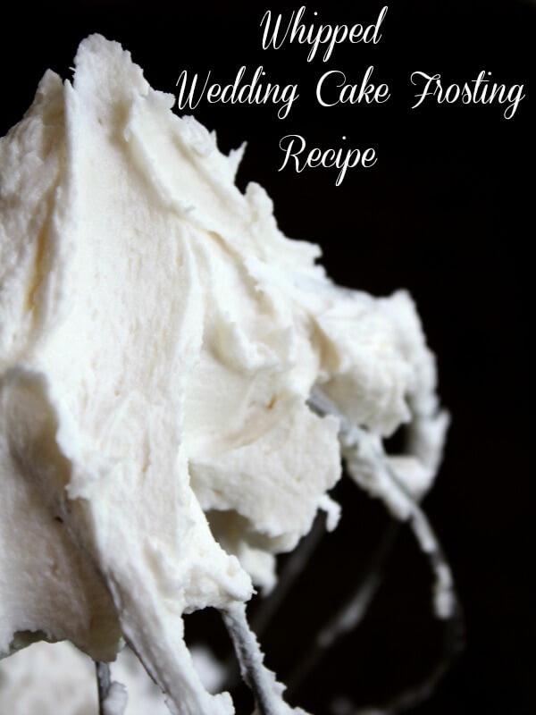 Wedding Cake Icing Recipe  Whipped Wedding Cake Frosting Recipe
