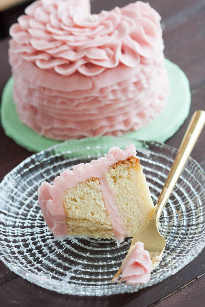 Wedding Cake Recipe From Scratch  Almond Cake From Scratch Recipe