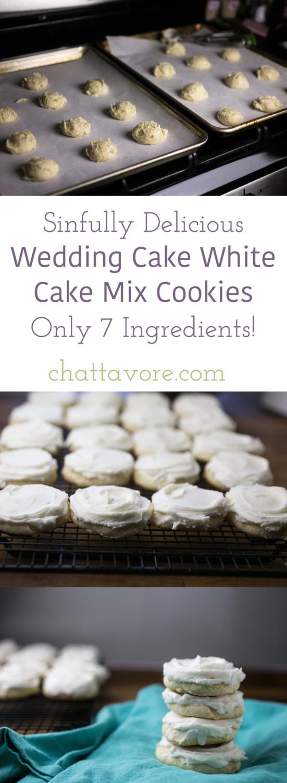 Wedding Cake Recipe Using Cake Mix  Wedding Cake White Cake Mix Cookies Chattavore