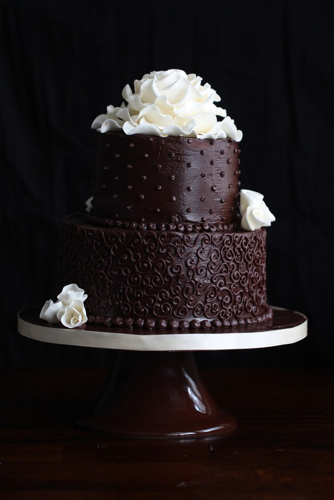 Wedding Cake Recipes For Tiered Cakes  Chocolate Wedding Cake