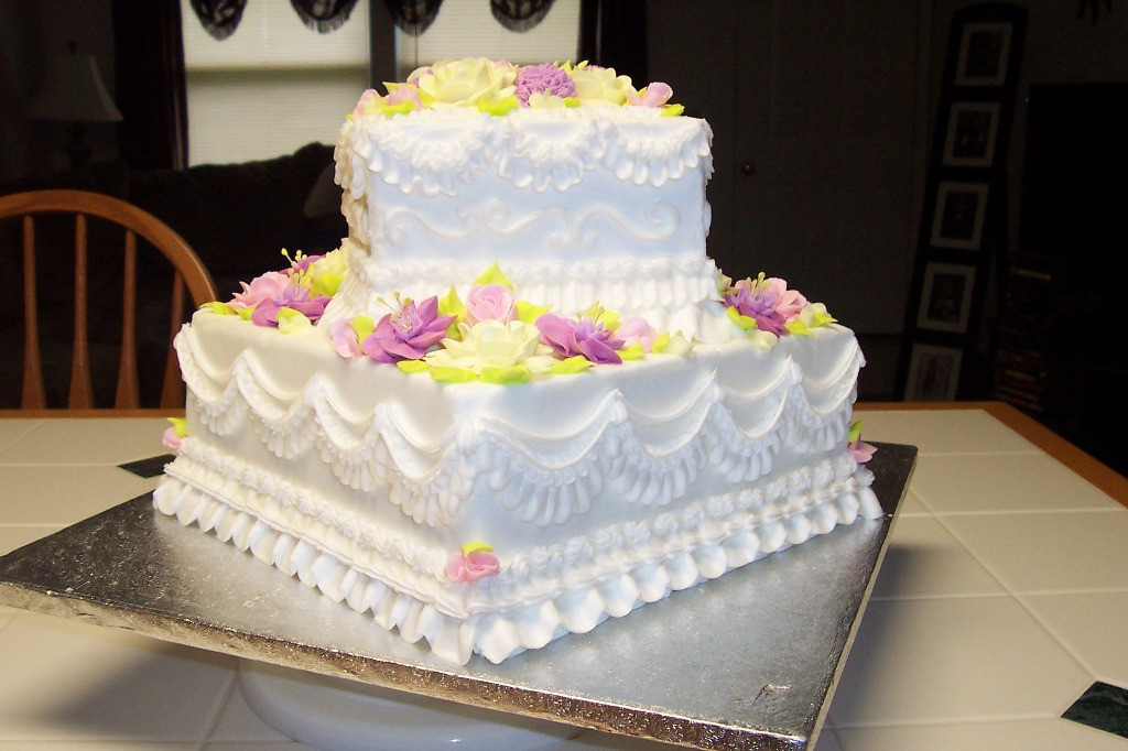 Wedding Cake Recipes For Tiered Cakes  Simple Buttercream 2 Tier Wedding Cakes — Wedding Academy
