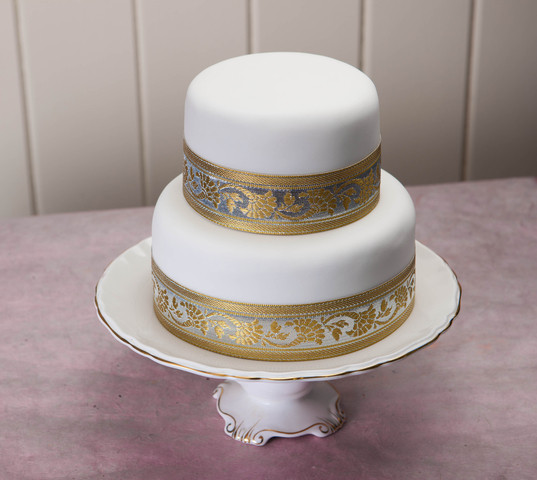 Wedding Cake Recipes For Tiered Cakes  Two tier wedding cake recipe idea in 2017