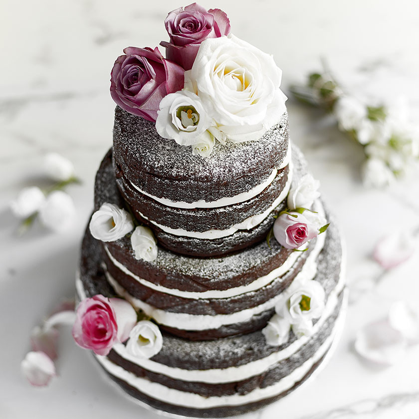 Wedding Cake Recipes For Tiered Cakes  Chocolate Showstopper Cake