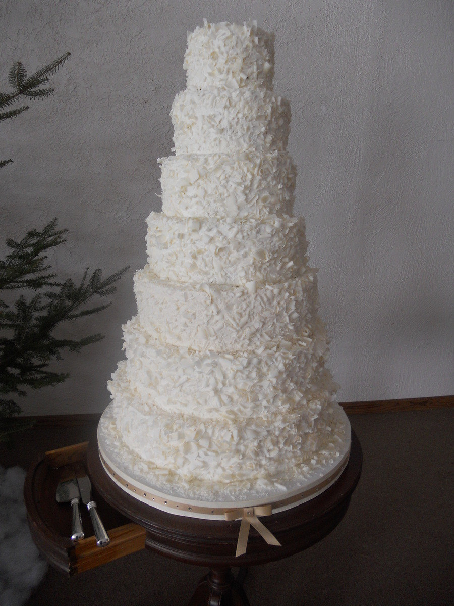 Wedding Cake Recipes For Tiered Cakes  7 Tiered Wedding Cake CakeCentral