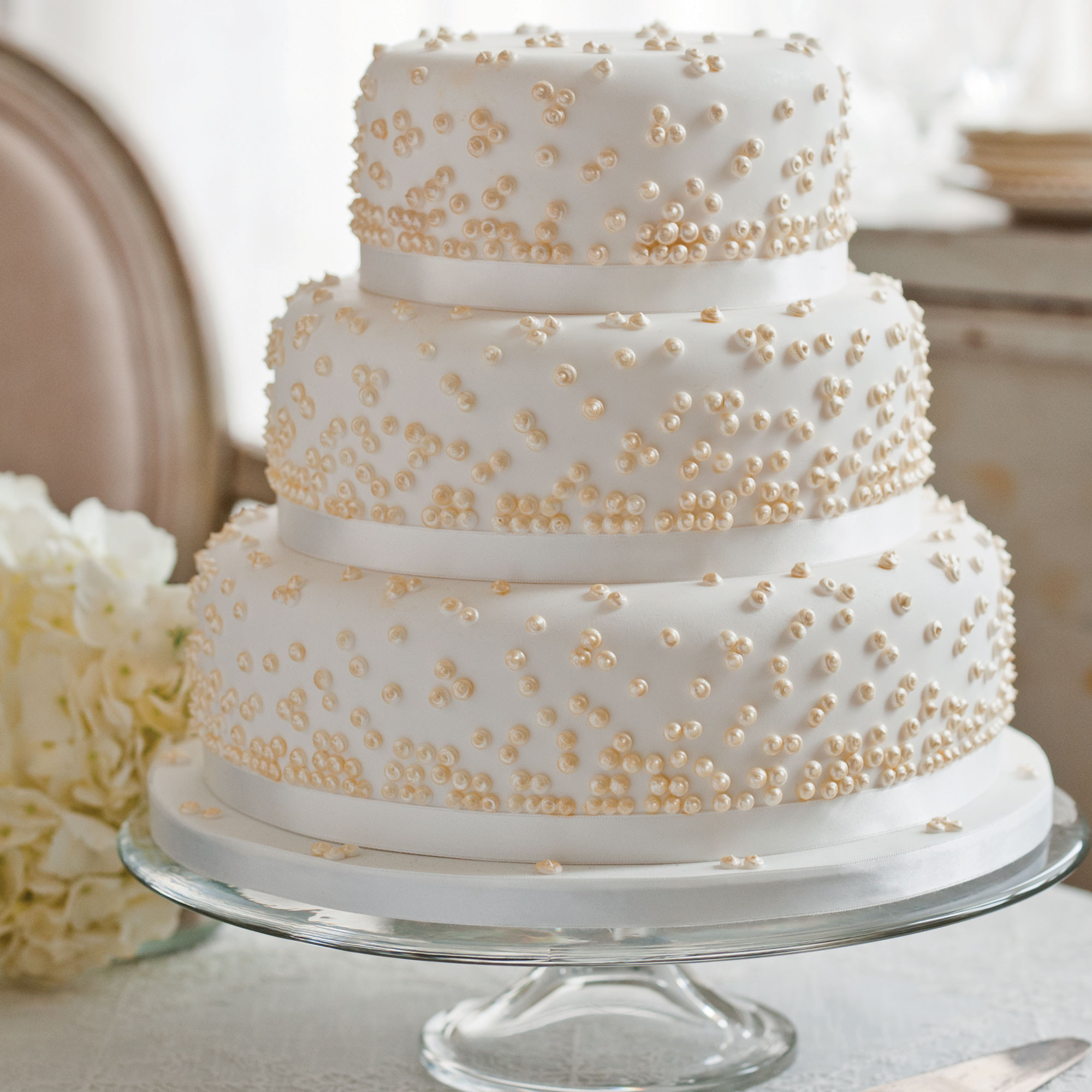 Wedding Cake Recipes For Tiered Cakes  Grace Kelly Wedding Cake Woman And Home