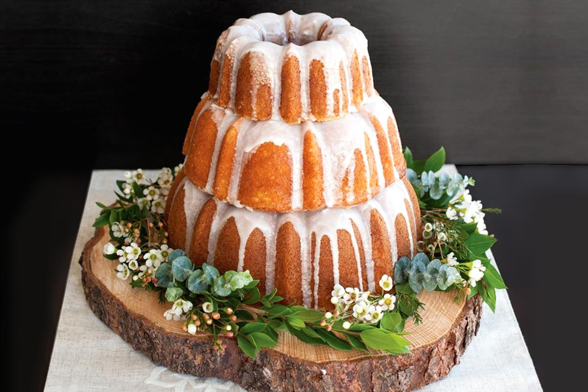 Wedding Cake Recipes For Tiered Cakes  Three Tiered Bundt Wedding Cake recipe