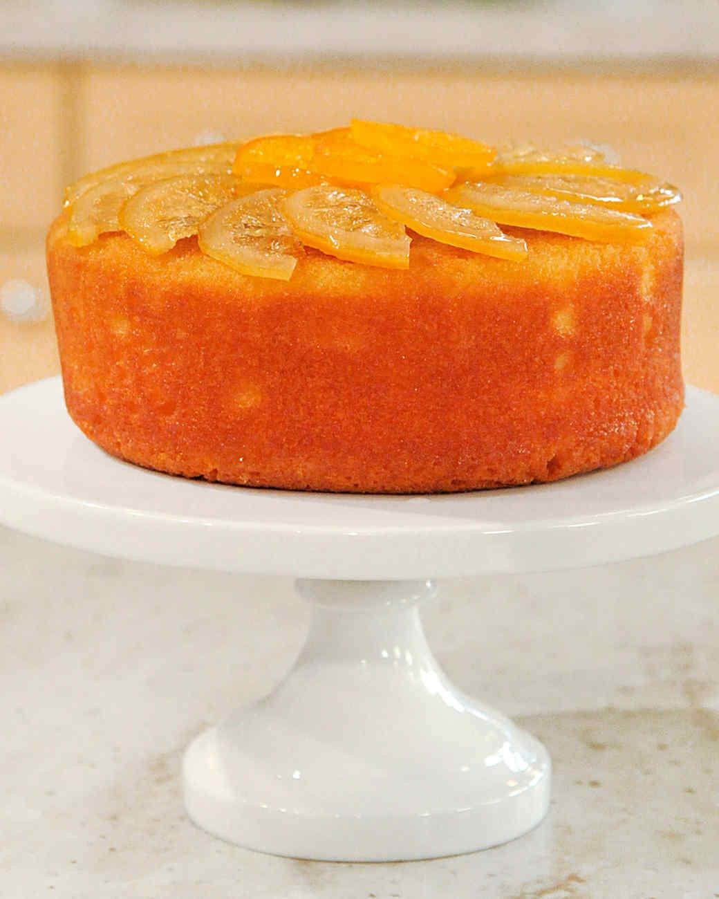 Wedding Cake Recipes Martha Stewart  Sour Lemon Cake Recipe & Video