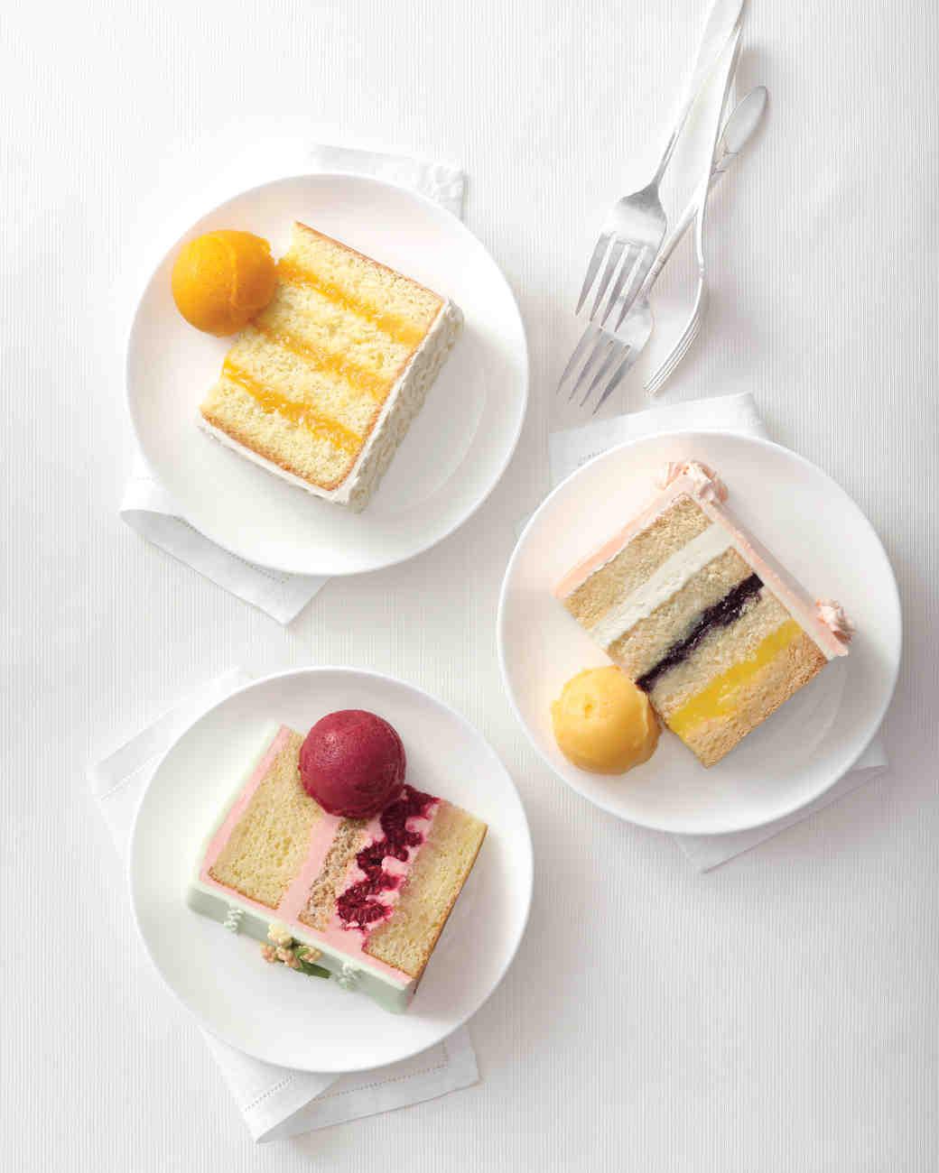 Wedding Cake Recipes Martha Stewart  Raspberry Dacquoise Cake Recipe