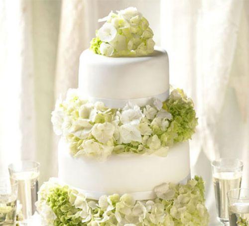Wedding Cake Recipes  Simple elegance wedding cake recipe