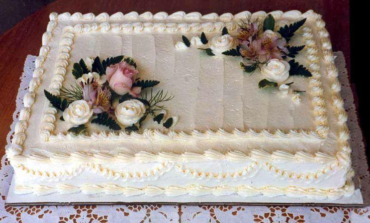 Wedding Cake Sheet Cake  81 best Costco Cakes images on Pinterest
