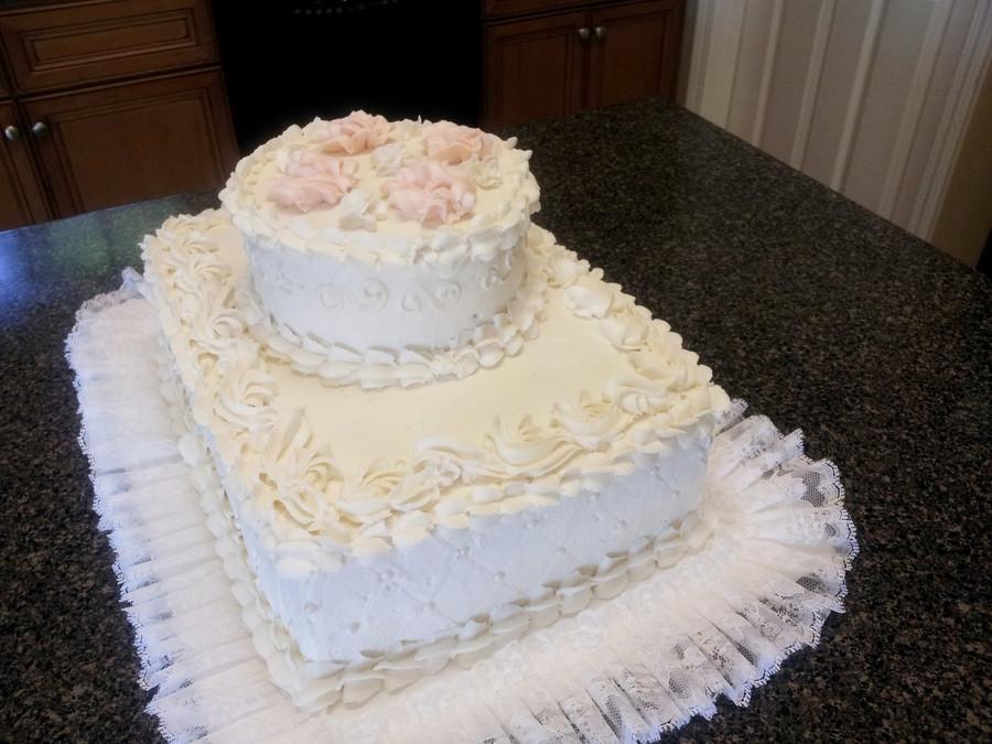 Wedding Cake Sheet Cake  Wedding Sheet Cake CakeCentral