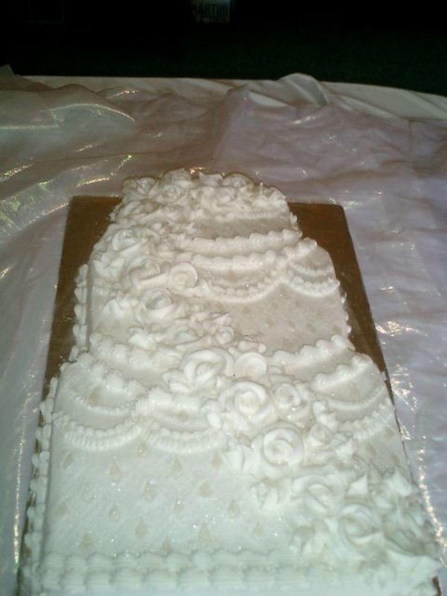 Wedding Cake Sheet Cake  Sheet Cake Wedding CakeCentral