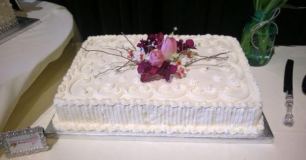 Wedding Cake Sheet Cake  wedding sheet cake Wedding Cakes Pinterest