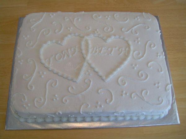 Wedding Cake Sheet Cake  Colors Wedding sheet cakes and The o jays on Pinterest
