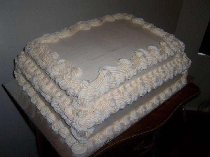 Wedding Cake Sheet Cake  19 best images about wedding sheet cakes on Pinterest