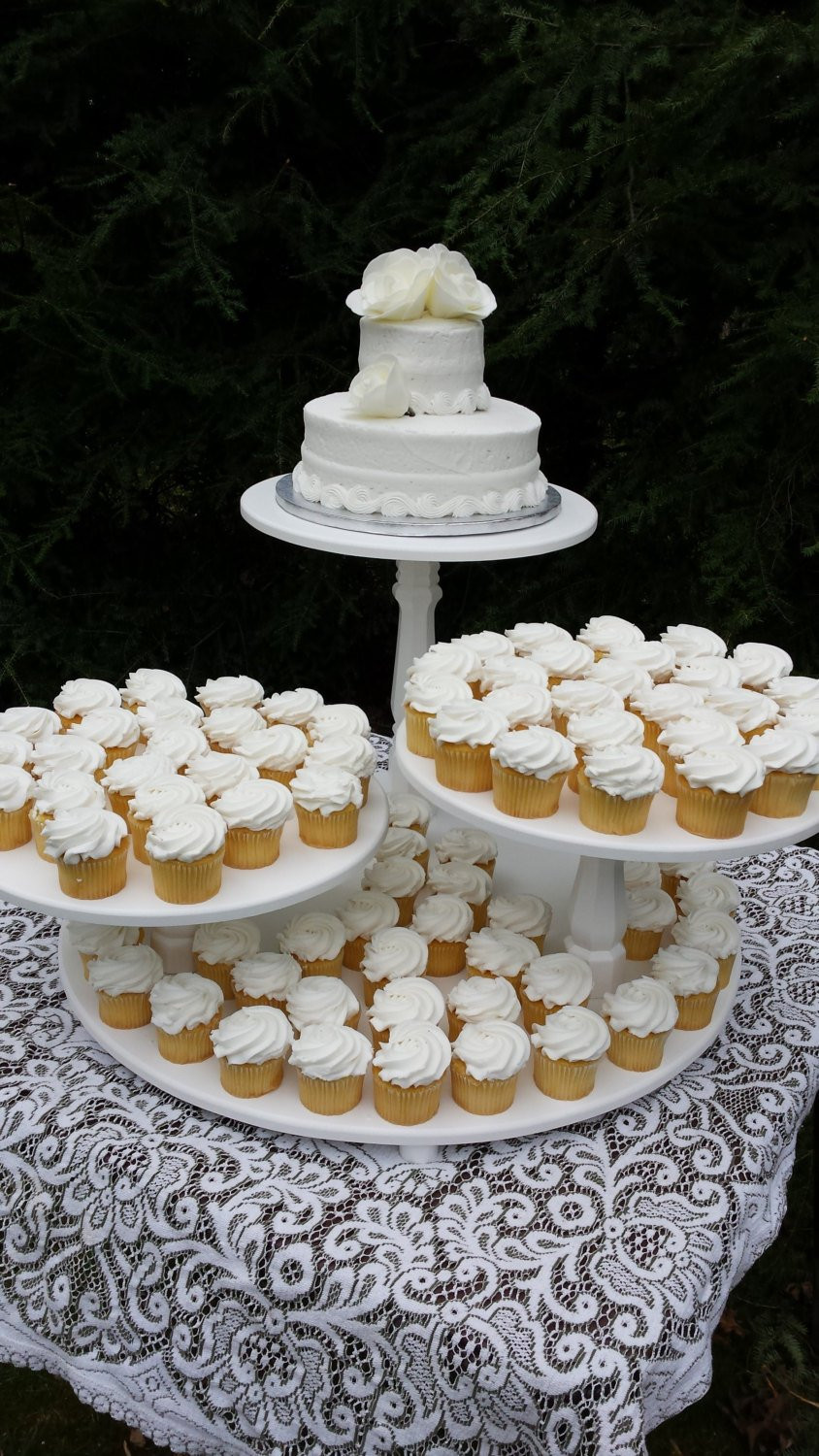 Wedding Cake Stands For Cupcakes  Cupcake Stand Cake Stand Wedding Cake Stand Wedding Cupcake