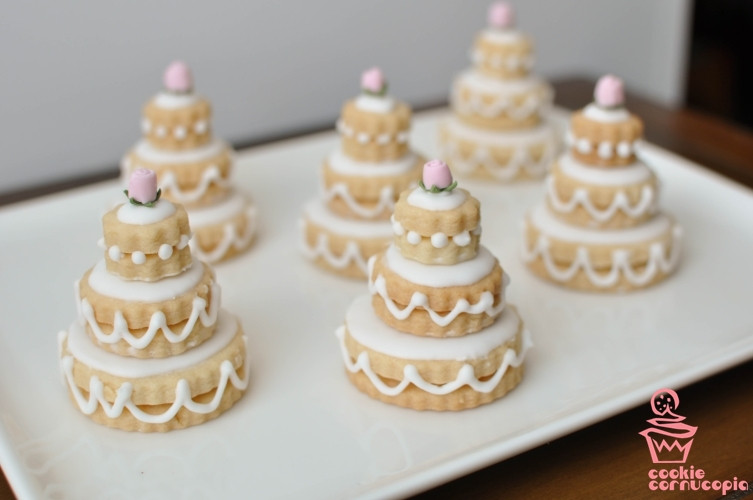 Wedding Cake Sugar Cookies  Kindergarten Confidential Cookie Cornucopia Is Your