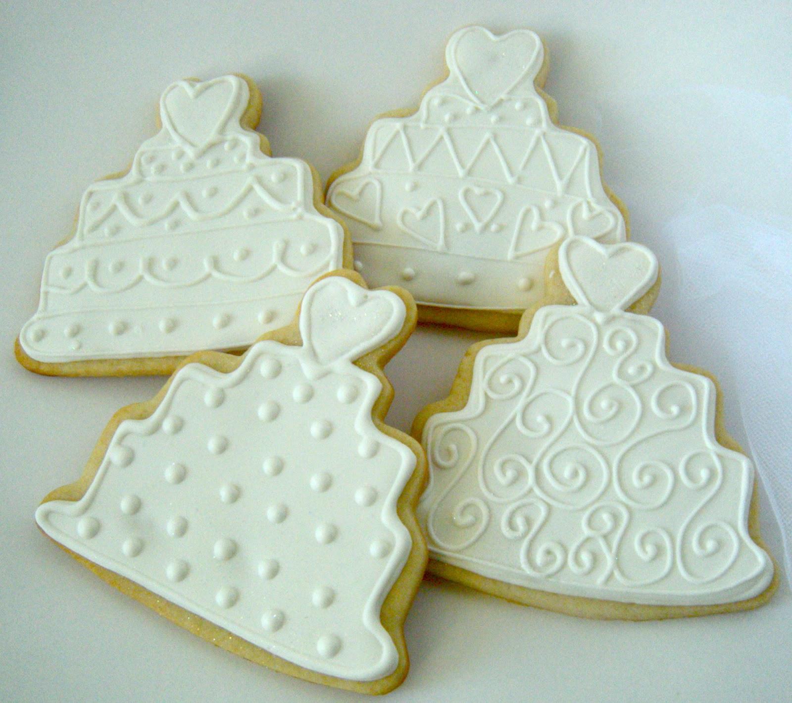 Wedding Cake Sugar Cookies  Sweetie Petitti Wedding Cookies