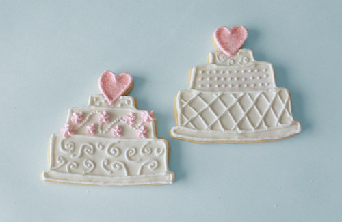 Wedding Cake Sugar Cookies  Wedding Cake Sugar Cookie