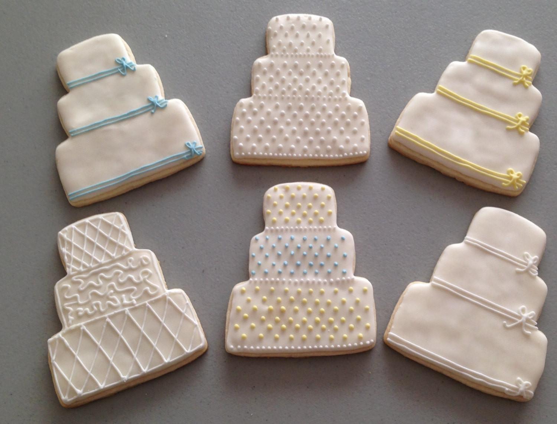Wedding Cake Sugar Cookies  Wedding Cake Sugar Cookies