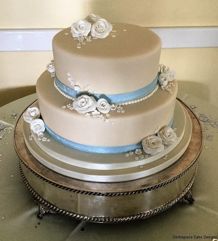 Wedding Cakes 2 Tier  Tiered Wedding Cakes Isle of Wight Wedding Cake Bakers