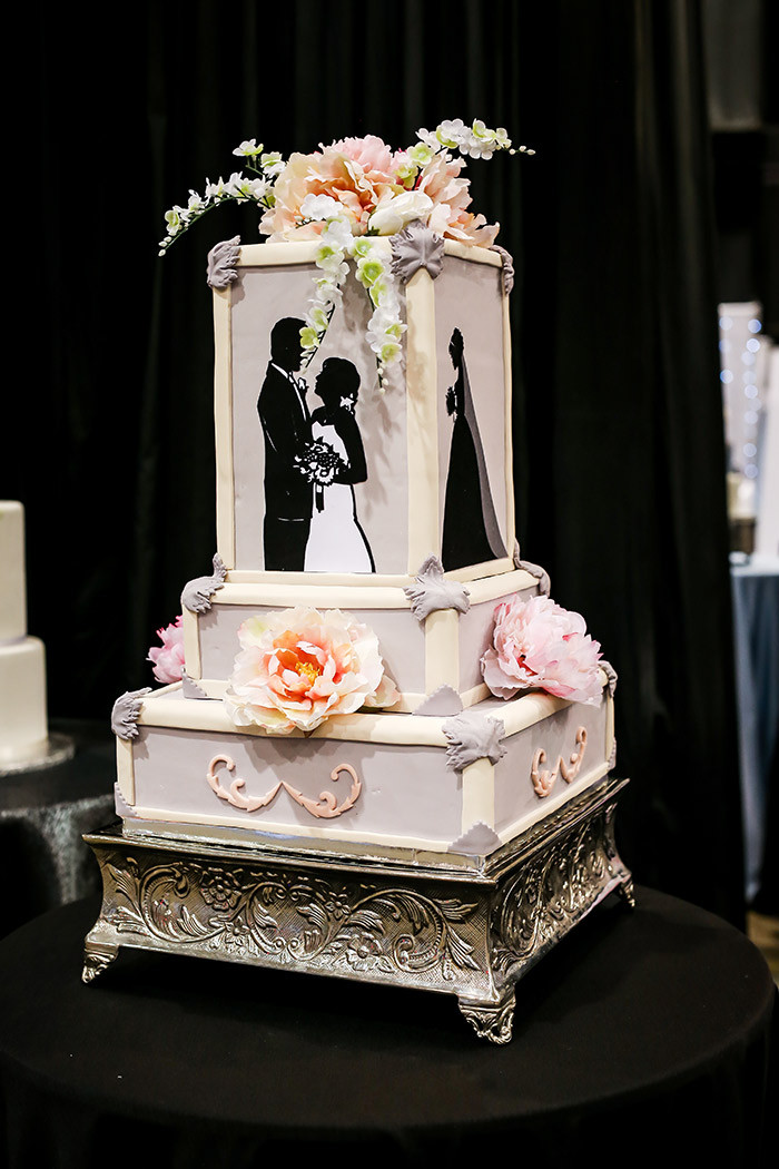 Wedding Cakes 2018  Cleveland 2018 Bridal Show Cake Gallery