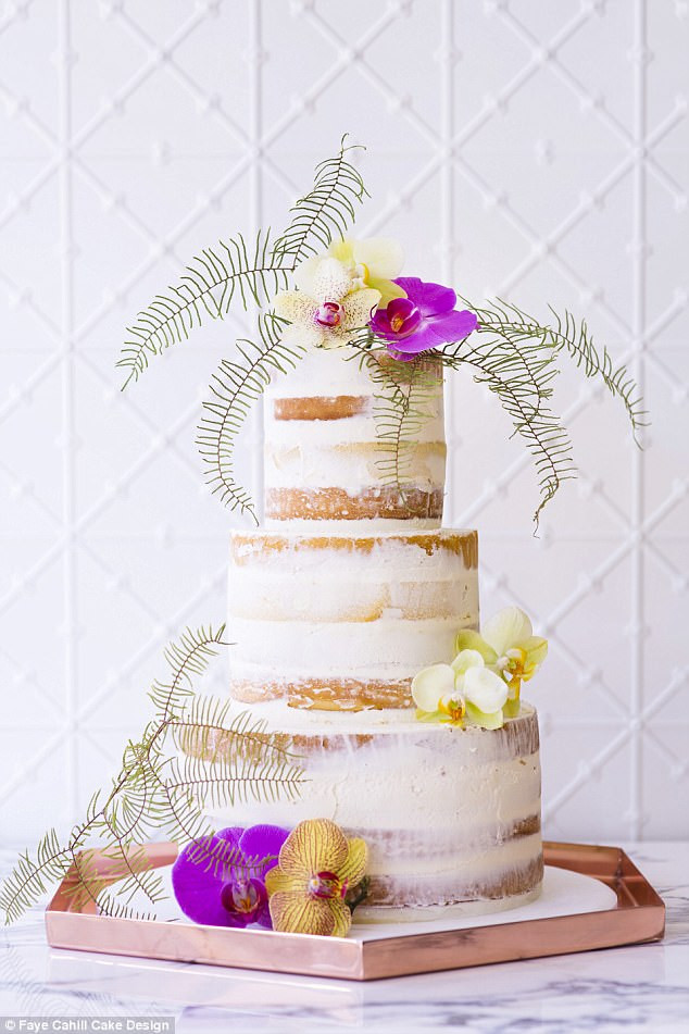 Wedding Cakes 2018  Wedding cake designer shares the biggest trends in 2018