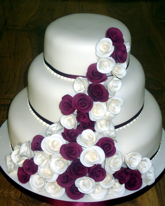 Wedding Cakes 3 Tier  of three tier wedding cakes idea in 2017