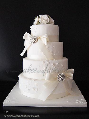 Wedding Cakes 4 Tier  f e