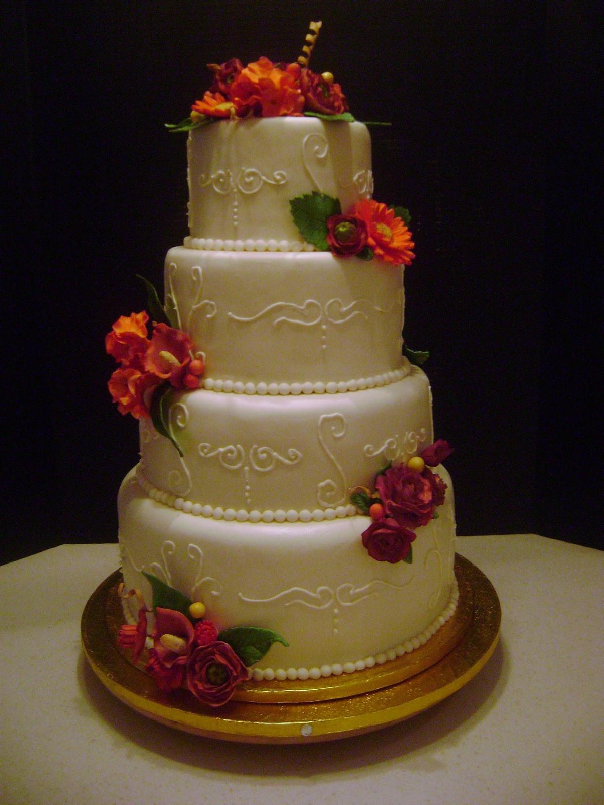 Wedding Cakes 4 Tier  MaryMel Cakes 4 tier wedding cake