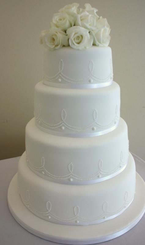 Wedding Cakes 4 Tier  Wedding Vanilla Bean Cake pany