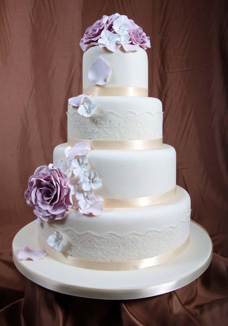 Wedding Cakes 4 Tier  Awesome 4 Tier Wedding Cake