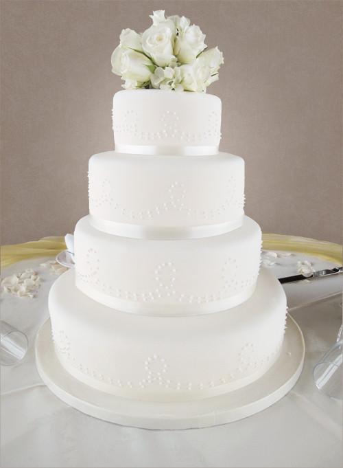 Wedding Cakes 4 Tier  Wedding Cakes The Cakery Leamington Spa