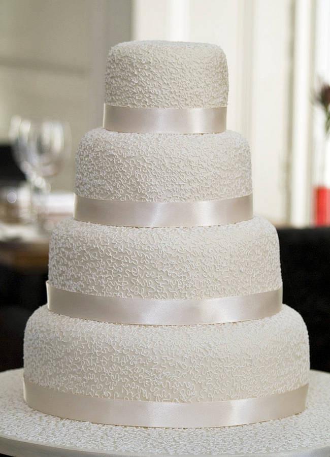 Wedding Cakes 4 Tier  4 Tier Wedding Cake Designs