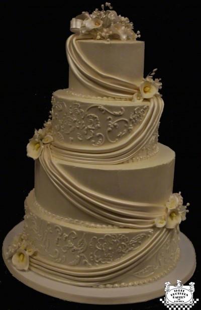 Wedding Cakes 4 Tier  Wedding Cake Trends 2012 blog 3brothersbakery