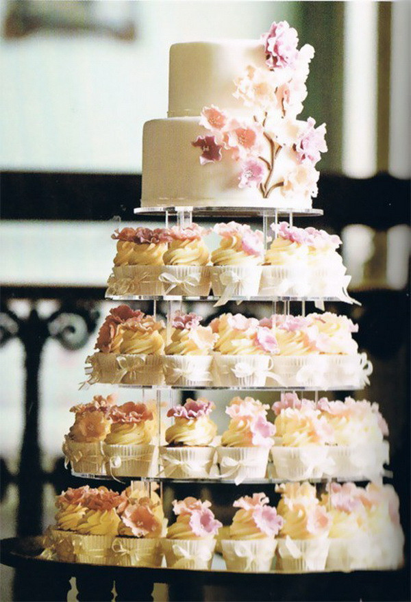 Wedding Cakes And Cup Cakes  Cupcake Wedding Cakes