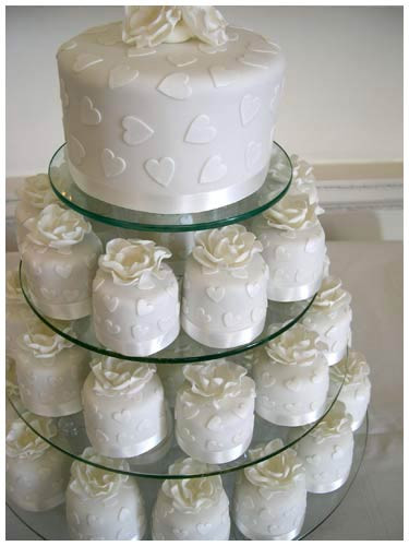 Wedding Cakes And Cupcake Ideas  Delicious Wedding Cake Cupcakes Ideas
