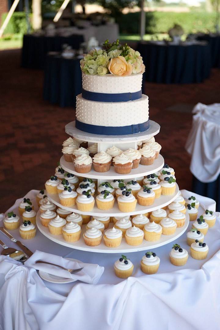 Wedding Cakes And Cupcakes  Cupcake Wedding Cakes Mon Cheri Bridals