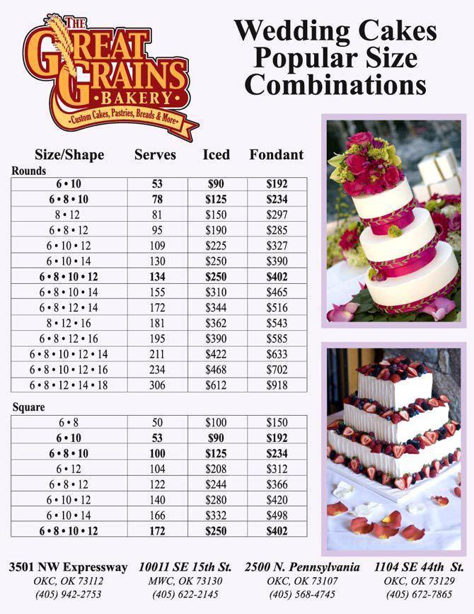Wedding Cakes And Prices  3 Tier Birthday Cake Prices