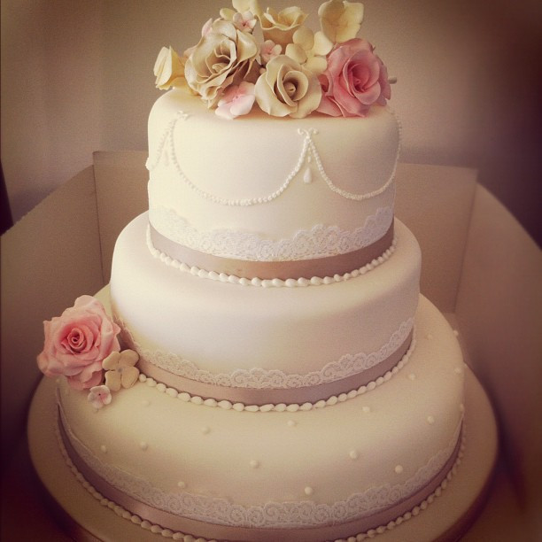 Wedding Cakes And Prices  3 tier wedding cakes prices idea in 2017