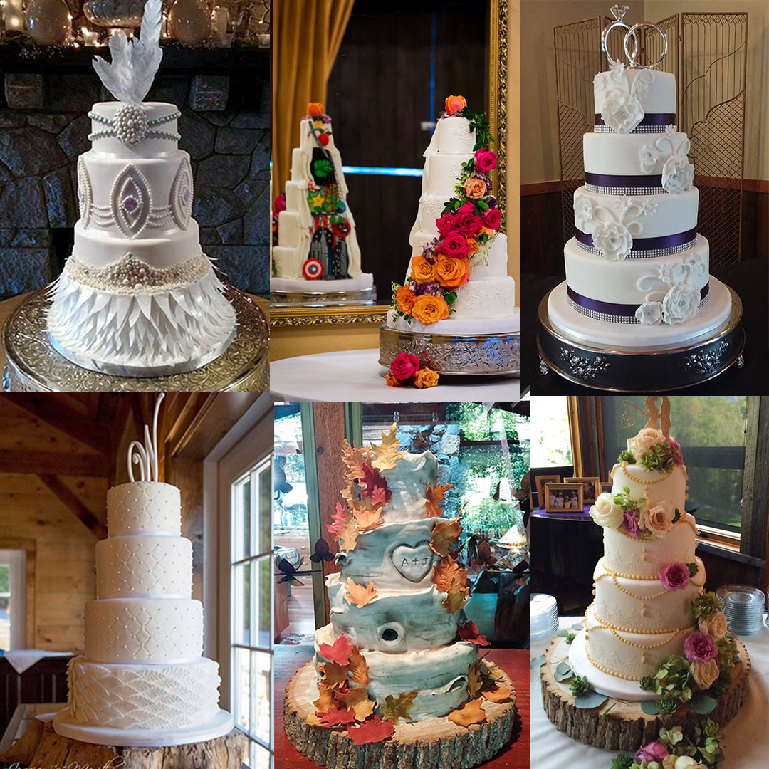 Wedding Cakes Asheville  Fondant and Specialty Designs Asheville Wedding Cakes