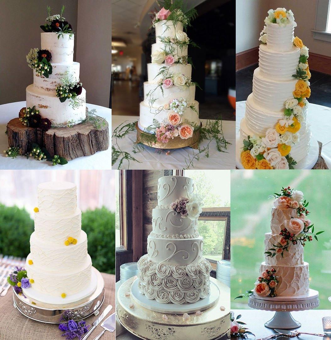 Wedding Cakes Asheville  Elegant Buttercream Designs Asheville Wedding Cakes