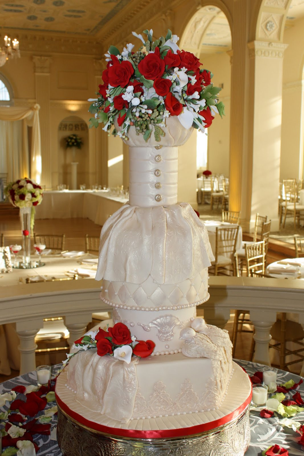 Wedding Cakes Atlanta Ga  Cakes by La'Meeka Atlanta Wedding Cakes