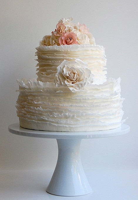 Wedding Cakes Austin  THE WEDDING BLOG DESIGNER MAGGIE AUSTIN CAKES