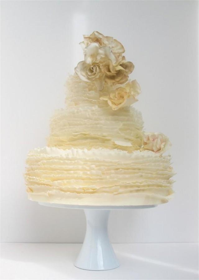 Wedding Cakes Austin  Fondant Cake Maggie Austin Wedding Cake Weddbook