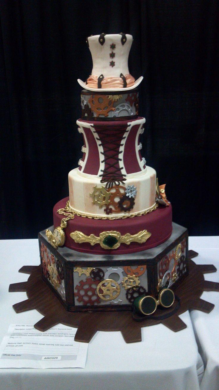 Wedding Cakes Austin Tx  Steampunk Wedding Cake Austin TX