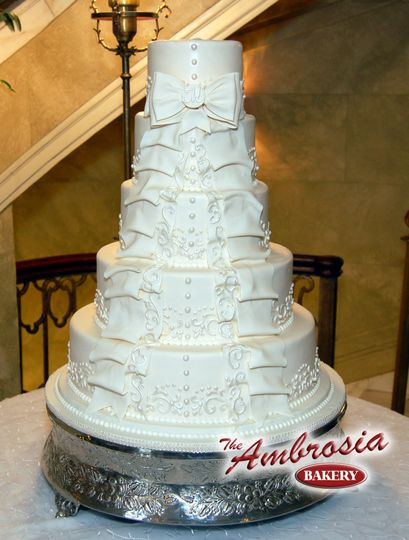 Wedding Cakes Baton Rouge  The Ambrosia Bakery Reviews & Ratings Wedding Cake